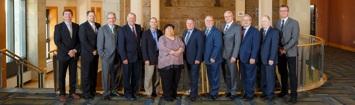 Minister MacAulay and provincial and territorial counterparts pose for a photograph at their annual conference