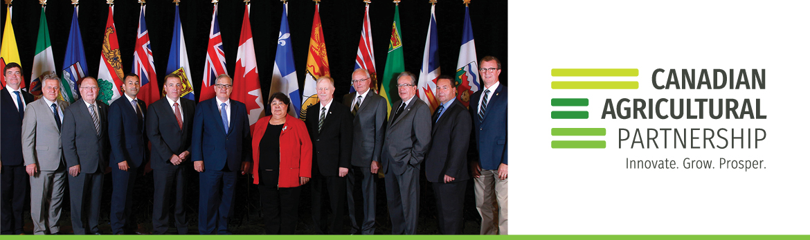 Federal, Provincial and Territorial Ministers of Agriculture and says: 'Canadian Agricultural Partnership'