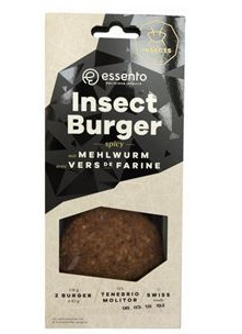 Product containing 250 dehydrated mealworms that can be served as an apetizer launches in 2017 by the French company Micronutris