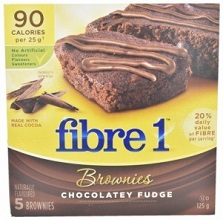 Fibre 1 chocolate fudge brownies