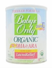 Baby's Only toddler formula