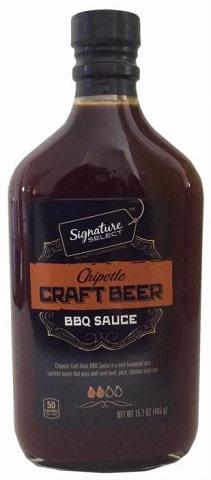 Sauce BBQ à la bière artisanale Chipotle