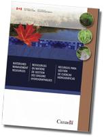 Couverture du DVD-ROM Ressources en matière de gestion des bassins hydrographiques