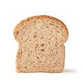 une tranche de pain bis