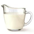 une tasse de crème