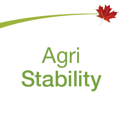 Growing Forward 2 curve with the word 'AgriStability' below