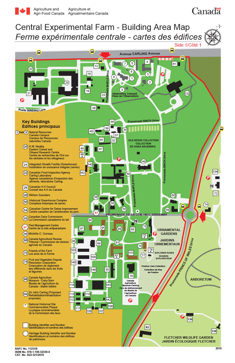 Map to the Pest Management Centre