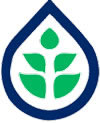 Symbol of the Canada-Saskatchewan and Irrigation Crop Diversification Corporation (CSIDC)