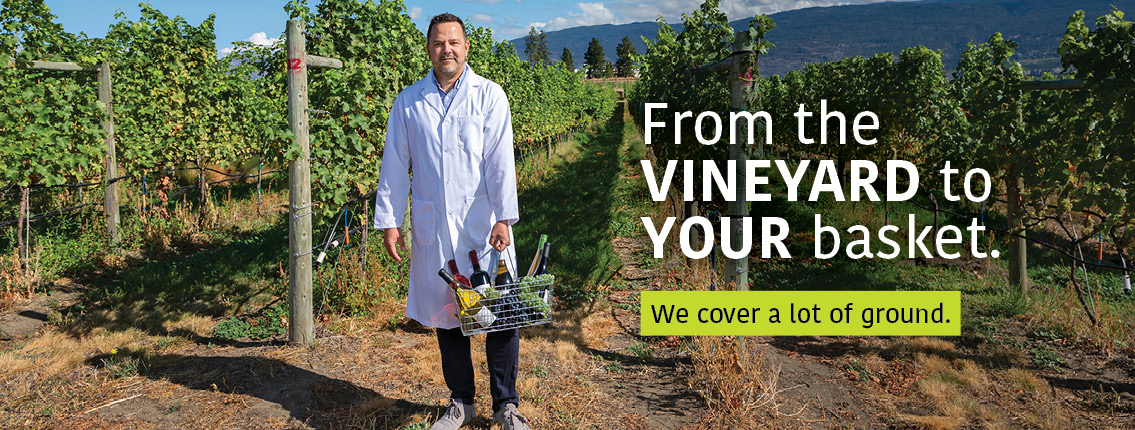 Dr. José Ramón Úrbez-Torres: From the vineyard to your basket. We cover a lot of ground.