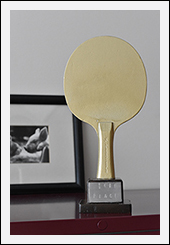 ping pong tournament trophy