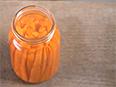 A jar of carrots