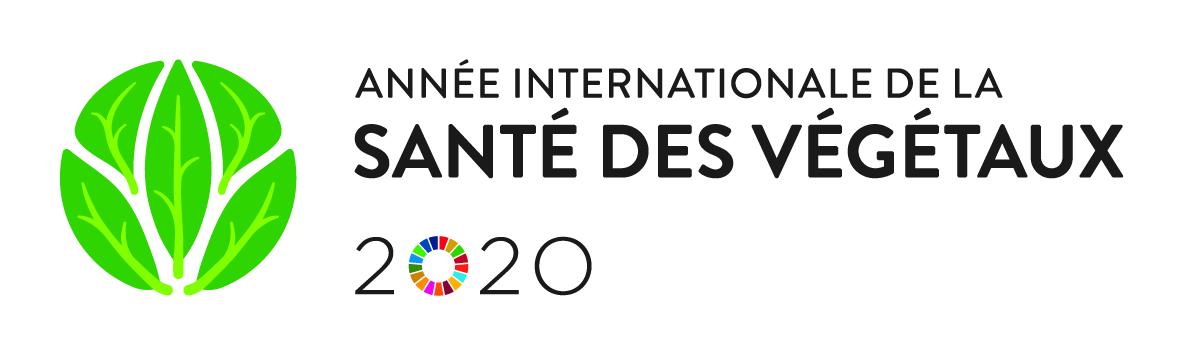 Logo Année internationale de la santé des végétaux 2020